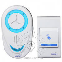 Звонок с беспроводной кнопкой LEMANSO LDB06 (1*12V 23A) 32 мелодии