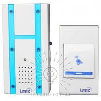 Звонок с беспроводной кнопкой LEMANSO LDB08 (1*12V 23A) 32 мелодии