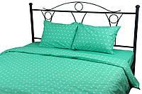 Полуторный евро постельный комплект (пододеяльник, 2 наволочки, простынь) ТМ Руно мятный 8.114Mint, фото 1