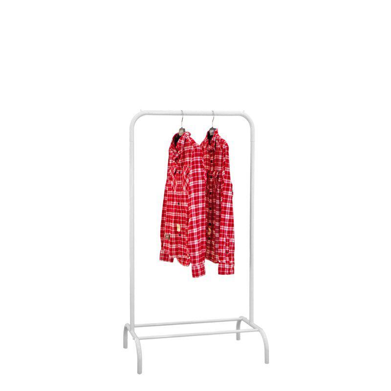 Стойка для одежды Лофт 1А белая (металл)