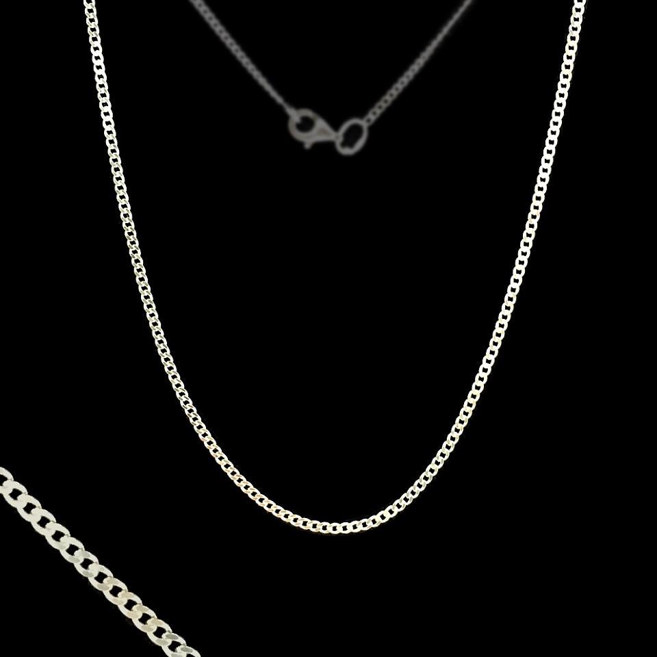 Серебряная цепочка, 550мм, 3 грамма, плетение Панцирь