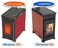 Отопительно-варочная печь Теплодар Матрица 100 (до 100м.куб.)