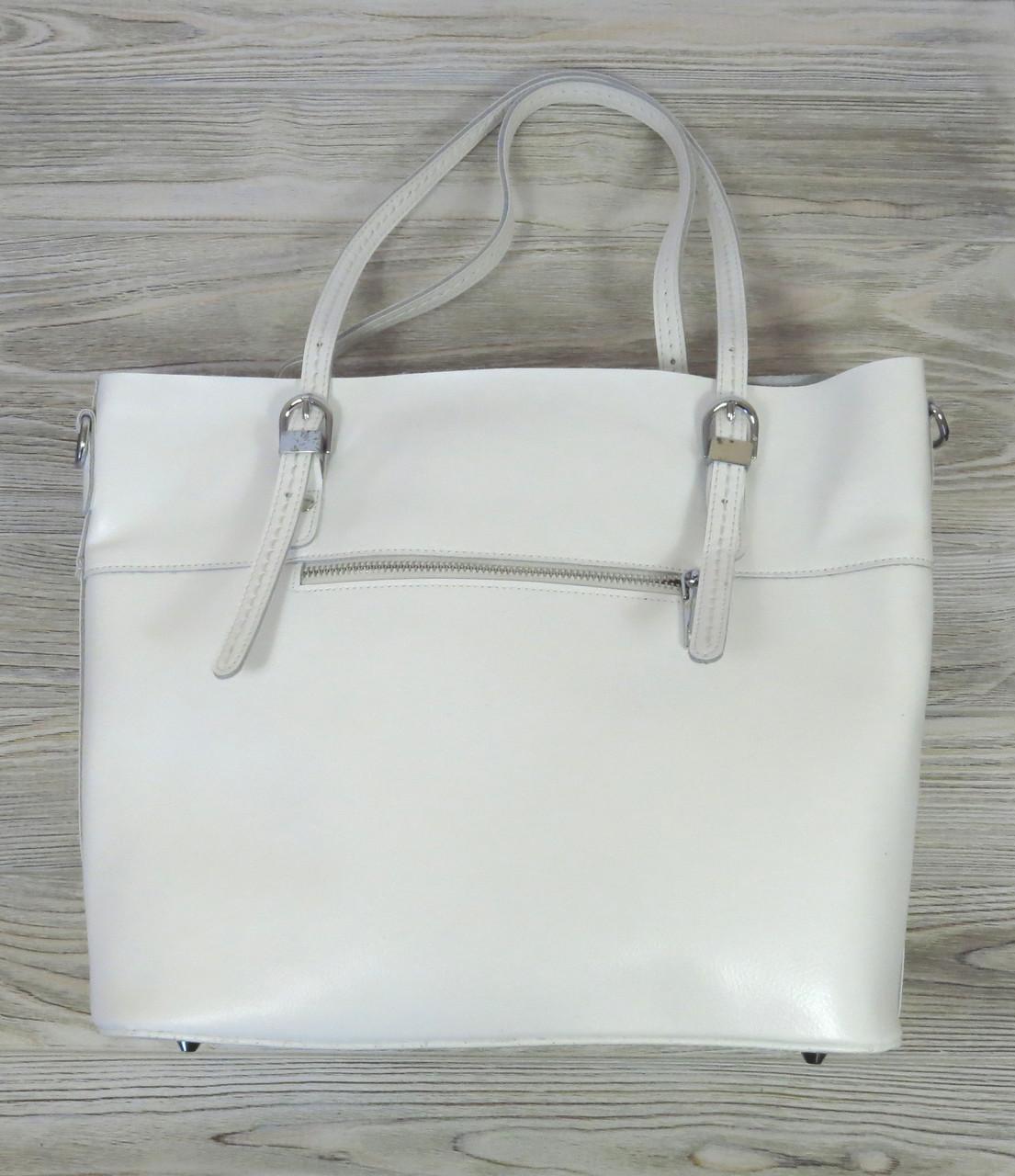 Белая женская сумка Farfallo Rosso
