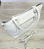 Белая женская сумка Farfallo Rosso, фото 2