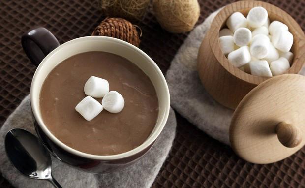 Какао, капучино и горячий шоколад