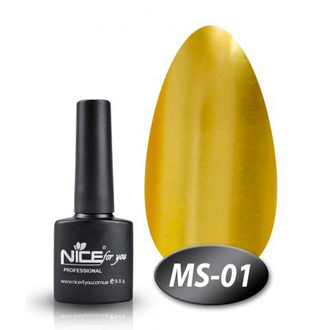 Гель лак nice for you № MS - 01