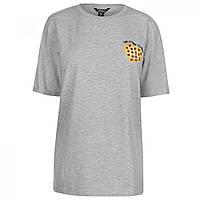 Футболка Golddigga Roll Sleeve Pizza - Оригинал