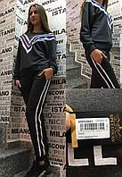 Спортивный костюм с паетками Speedway Турция люкс серый