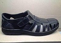 Обувь больших размеров Кожаные мужские босоножки  размеры 46,47,48,49,50