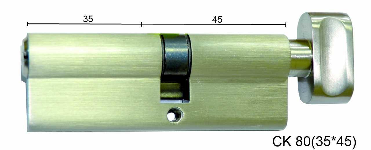 Цилиндр латунный IMPERIAL СК 80 (35*45) t/к лаз.