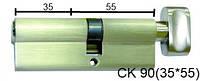 Цилиндр латунный IMPERIAL СК 90 (35*55) t/к лаз.