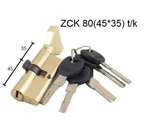 Цилиндр цинковый IMPERIAL  ZCK 80 (45*35) t/к лаз.