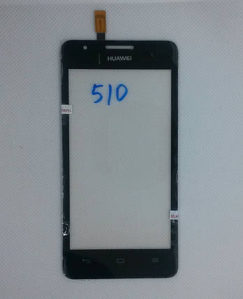 Cенсорный экран Huawei Ascend G510 BLACK (тачскрин, сенсор), фото 2