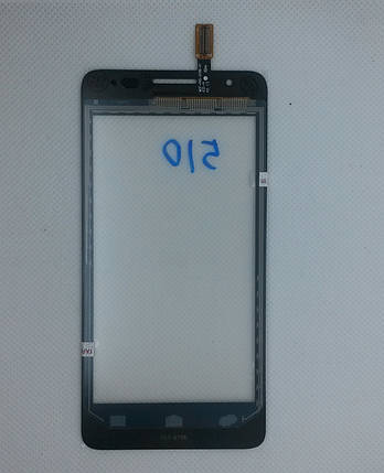 Сенсорний екран Huawei Ascend G510 BLACK (тачскрін, сенсор), фото 2