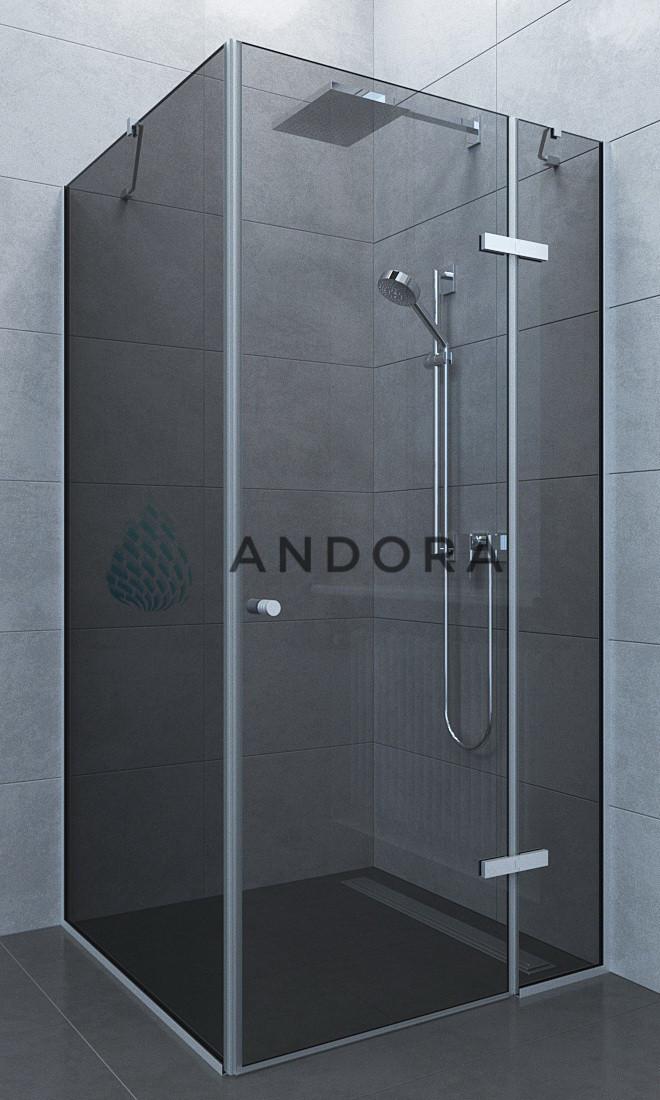 Душевая кабина Andora Aspen 100x90x200 стекло grafite L / R