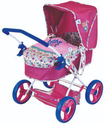 Кукольная коляска Baby Alive Classic Pram Doll D86491 ***