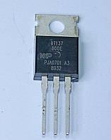 Симистор BT137-800E  (TO-220AB)