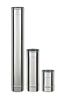 0,3м - ф 120мм Труба (1мм - AISI 321) с Титаном