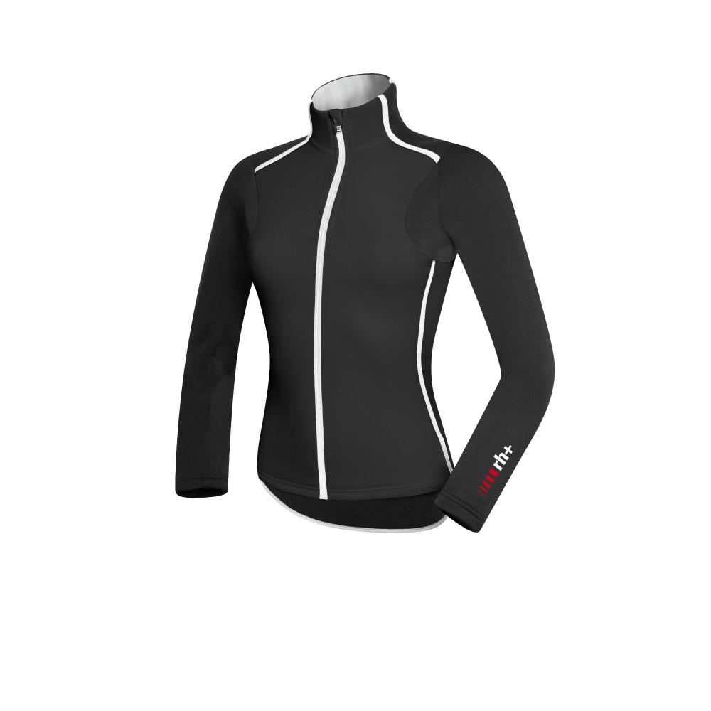 Велокофта ZeroRH+ rythmic w jersey black-white (MD)