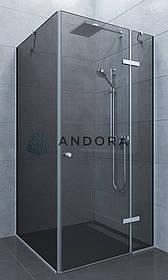 Душова кабіна Andora Aspen 100x80x200 скло grafite L / R