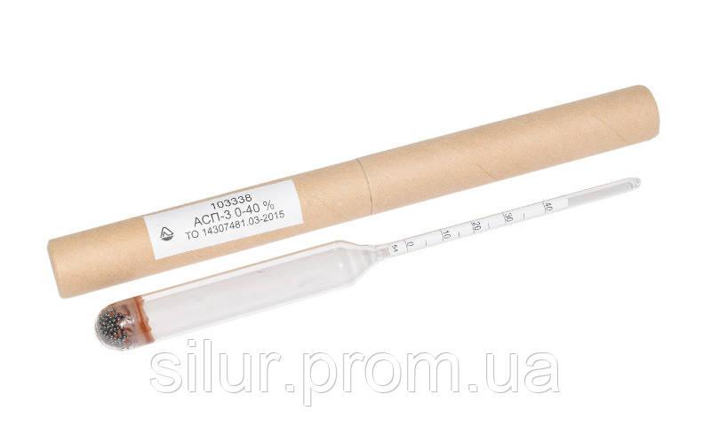 Ареометр для спирта 0-40 АСП-3