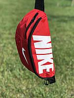 Поясна сумка Nike Team Training(червона) сумка на пояс, фото 1