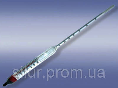 Ареометр для спирта с термометром 0-60 АСП-Т