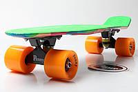 Скейт Пенни Борд Print, Penny Board Original 22 Marcos Green