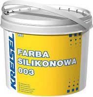 Краска силиконовая стойкая к загрязнению SILIKONFARBE 003