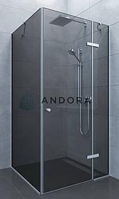 Душова кабіна Andora Aspen 90x90x200 скло grafite L / R