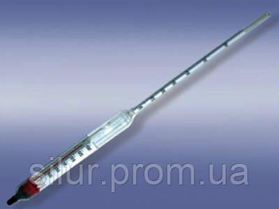 Ареометр для спирта с термометром 60-100 АСП-Т