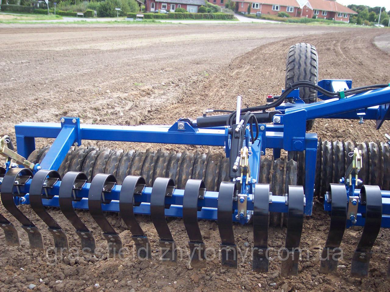 Комплексний ґрунтообробний коток MaxiRoll 6.30m