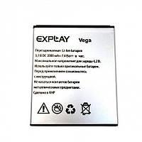 Аккумулятор к телефону Explay Vega 2000mAh