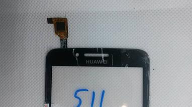 Cенсорный экран HUAWEI Ascend Y511 BLACK (тачскрин, сенсор), фото 3