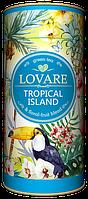 Чай Lovare Tropical Island (Тропический остров) 80 гр. тубус