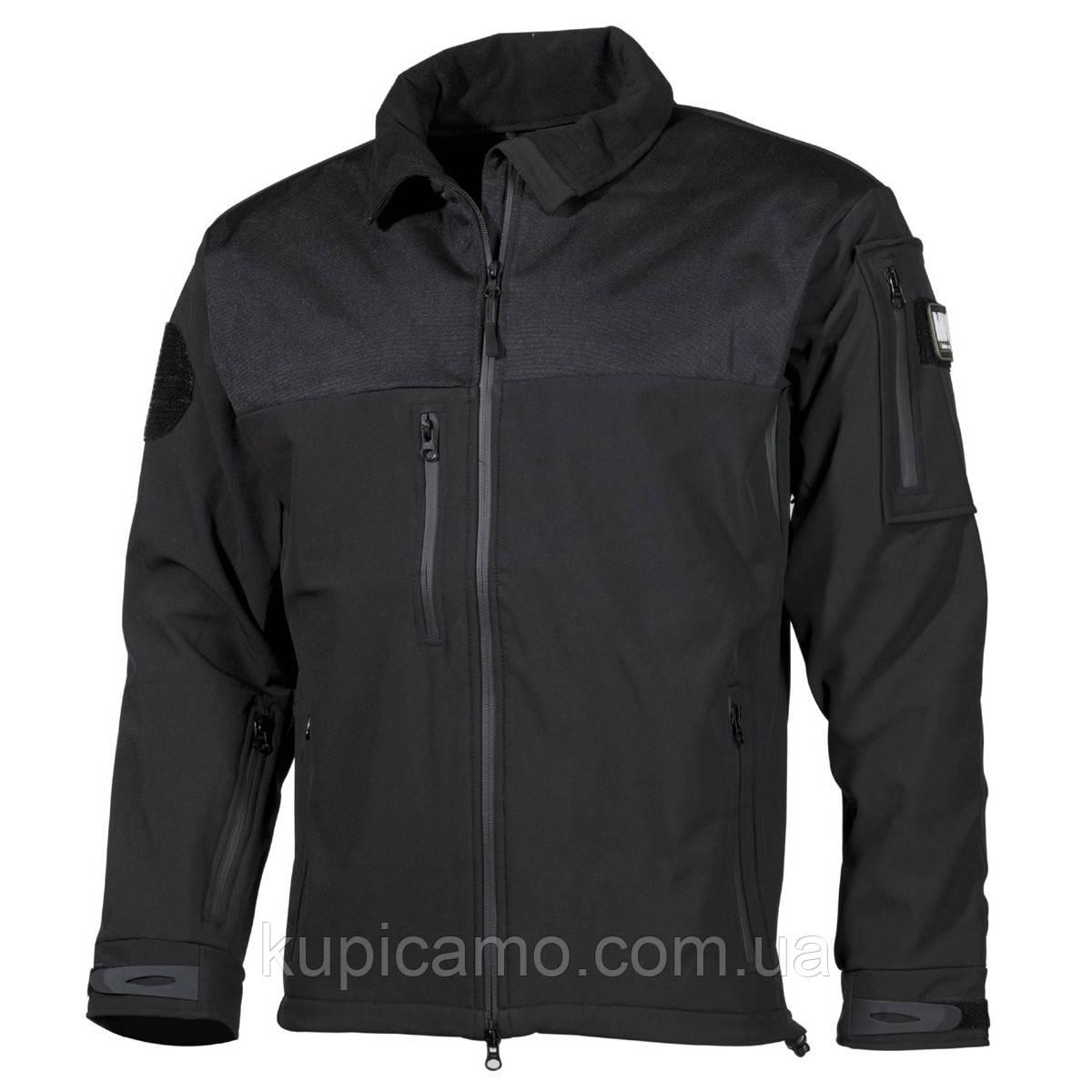 Куртка-ветровка soft shell «Australia» MFH Германия черный XL 54/56