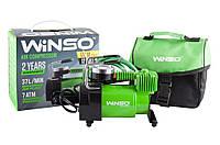 "Компрессор ""WINSO"" 7 Атм, 37 л/мин., 170Вт, кабель 3м., шланг 1м., метал.накладка"