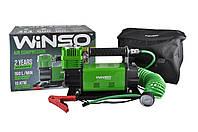 "Компрессор ""WINSO"" 10 Атм, 160 л/мин. 600Вт,кабель 2м., шланг 7,4м, спускной клапан"