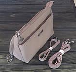 Розовая сумочка клатч Farfalla Rosso, фото 3