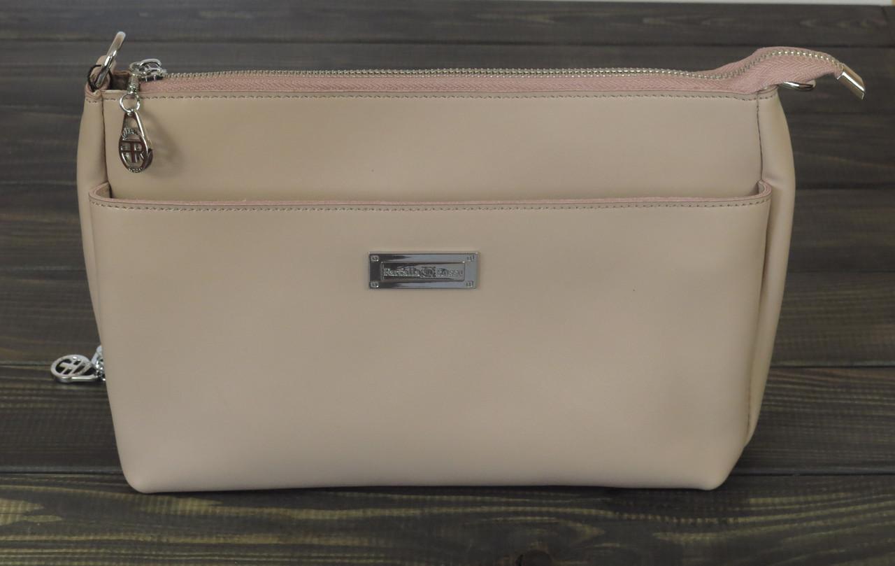 Розовая сумочка клатч Farfalla Rosso