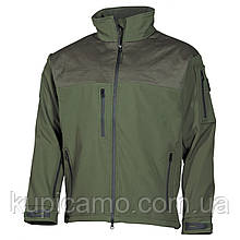 Куртка-ветровка soft shell «Australia» олива MFH Германия