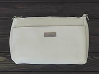 Белая сумочка клатч Farfalla Rosso, фото 1