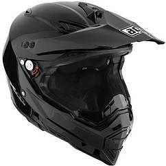Шлем AGV AX-8 DUAL EVO черный глянец р.L