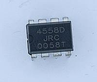 Микросхема NJM4558D;(DIP-8)