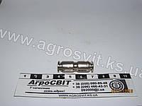 Соединитель пневматики (прямой) 4 мм. (металл), кат. № RD 01.02.123