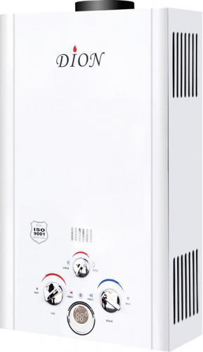 Газовая колонка Дион JSD 08 белая дисплей
