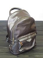 Женский рюкзак бронзового цвета, фото 1