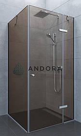 Душова кабіна Andora Aspen 100x100x200 скло bronze L / R
