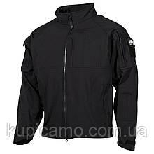 Куртка-ветровка «Liberty» черная MFH, Германия