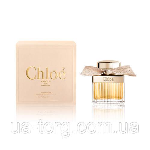 Женская парфюмировня вода Chloe Absolu De Parfum